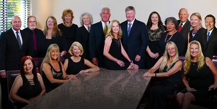 Private Client Insurance Services Team Photo Featuring Elaine Hawkings and Team Homepage Image
